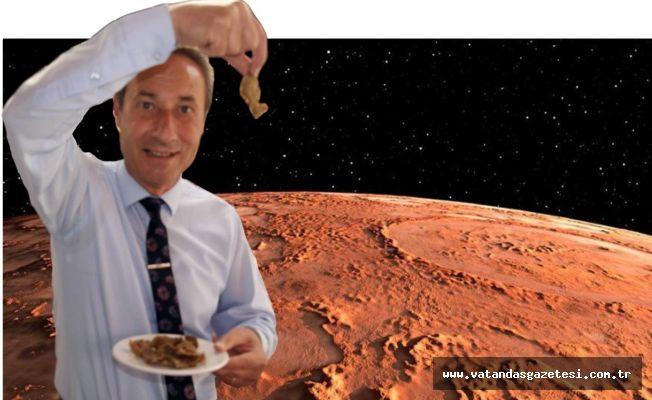 TAVA CİĞER MARS'A GİDİYOR!