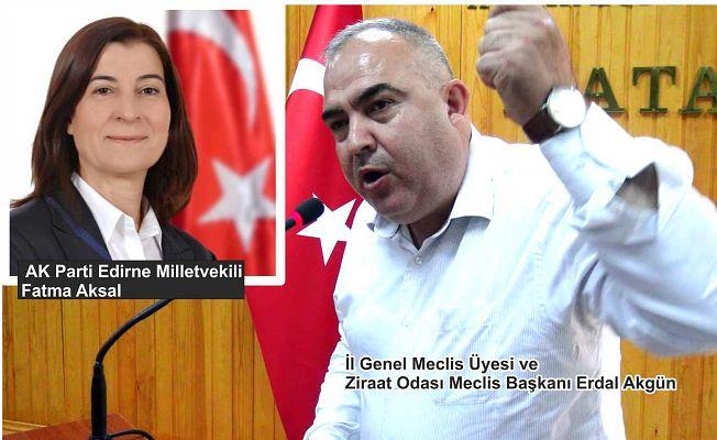 AKGÜN'DEN AKSAL'A ELEŞTİRİ!