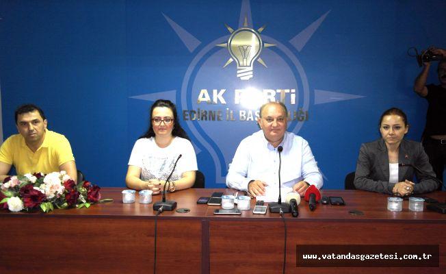 "AKMEŞE'DEN ÇADIR AÇIKLAMASI  ""GİTSİN KAPATSIN!"""