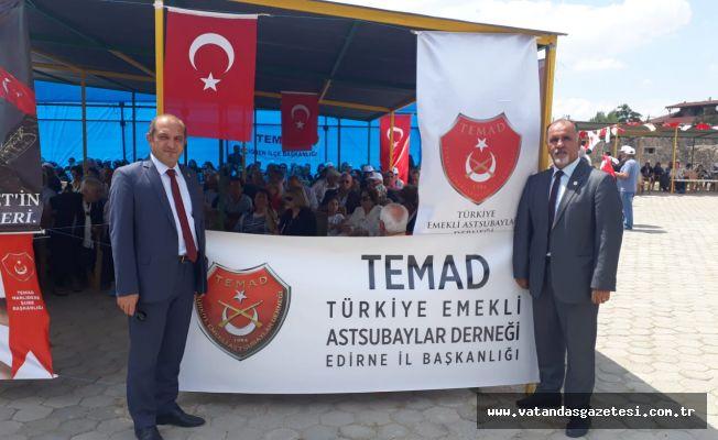 TEMAD, ÖMER HALİSDEMİR'İ KABRİ BAŞINDA ANDI