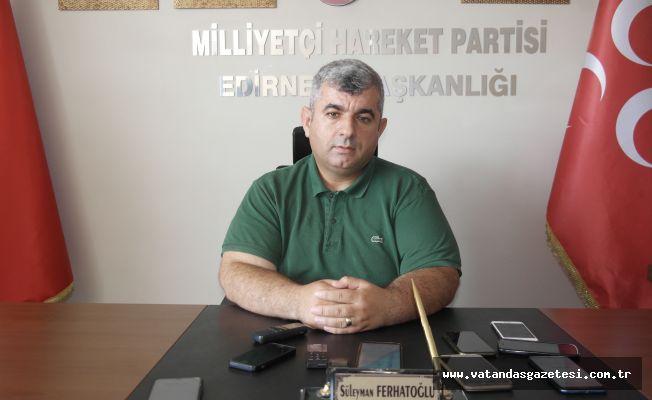 """FERHATOĞLU'NDAN İYİ PARTİLİLERE ÇAĞRI  """"ONLARA İHTİYACIMIZ VAR"""""""