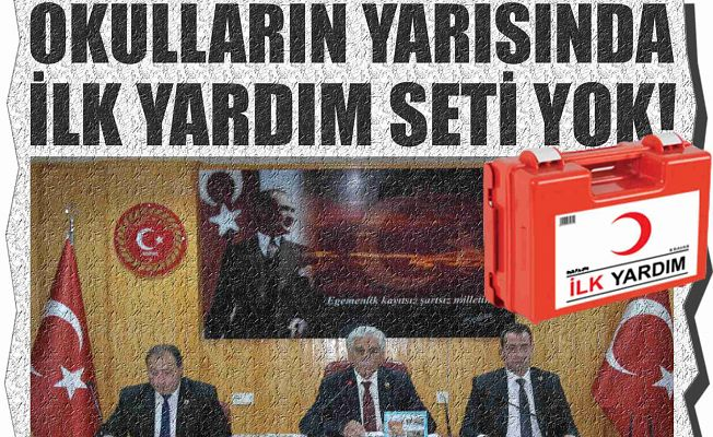 İLK YARDIM SETLERİ TAMAMLANDI