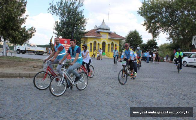 """""""Sağlık İçin Hareket Et"""" Bisiklet Turu Gerçekleştirildi"""