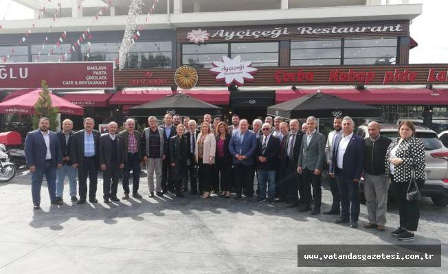 Ak Parti, Edirne'nin Sorunları için Muhtarlarla bir araya geldi