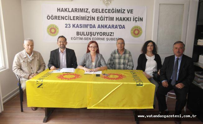"""""""LAİK VE BİLİMSEL EĞİTİMİ KAYBETTİK"""""""