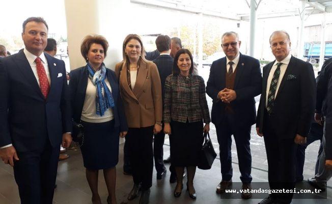 İba, OSBÜK Marmara Bölge Toplantısı'na katıldı