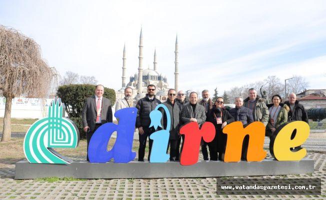 TURYİD, EDİRNE'Yİ KEŞFETTİ