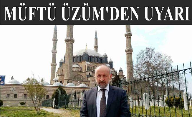 """""""KANDİL İBADETLERİNİZİ EVİNİZDE YAPIN"""""""