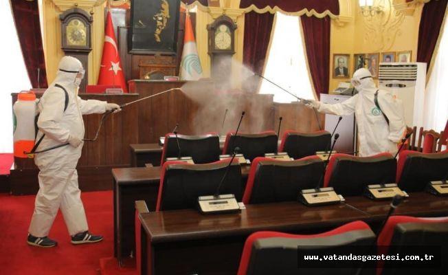 MECLİS ÖNCESİ DEZENFEKTE!