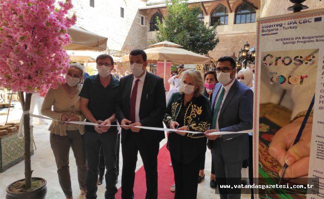 Edirne'de El Sanatları Fuar'ı düzenlendi.