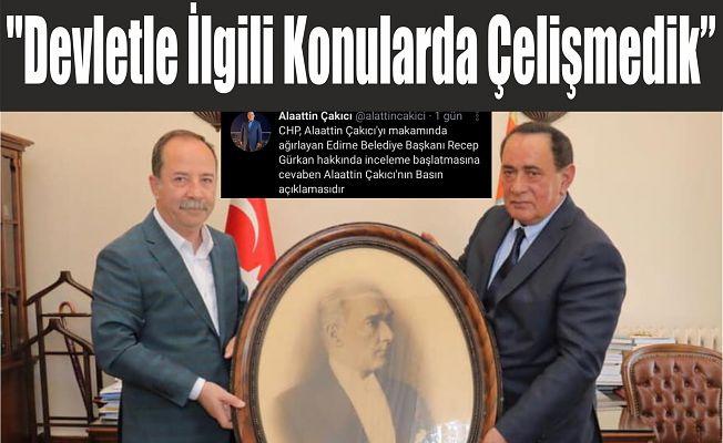 """""""AYNI ZİHNİYETTEYİZ!"""""""