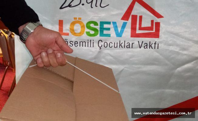 LÖSEV'DEN ANLAMLI DAVRANIŞ!