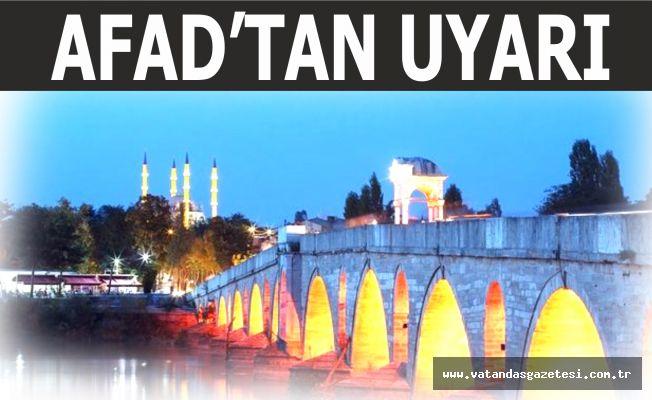"""""""EDİRNE'DE DEPREM RİSKİ VAR!"""""""