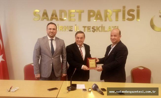 SAADET'TE DEVİR TESLİM