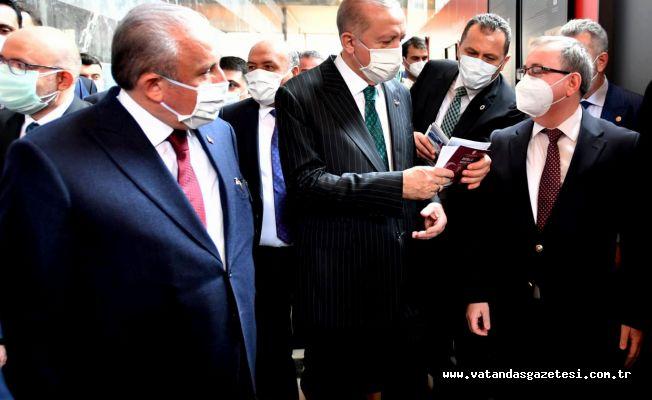 TABAKOĞLU'NDAN CUMHURBAŞKANI ERDOĞAN'A DAVETİYE