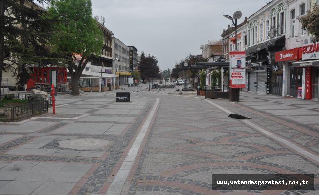Edirne'de kapanma sessizliği!