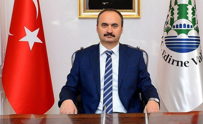 "VALİ CANALP ""1 MAYIS VEFA GÜNÜDÜR"""