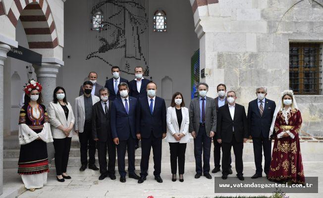 """Vali Canalp, """"Edirne'yi Müzeler Başkenti Yapacağız"""""""