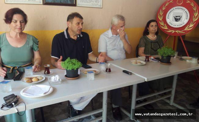 EMEKLİ AMİRAL ERTÜRK, ADD'Yİ ZİYARET ETTİ