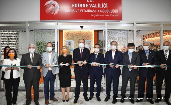 NÜFUSTAN 'VIP' HİZMET