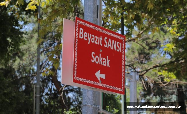BEYAZIT SANSI'NIN İSMİ ÖLÜMSÜZLEŞTİ