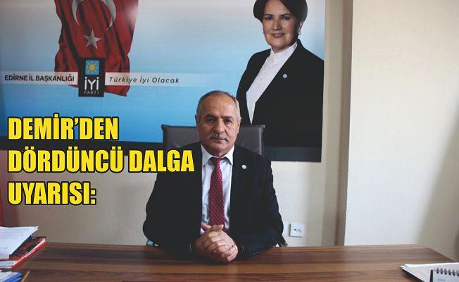 """""""YETKİLİLER ŞİMDİDEN EKONOMİK VE SOSYAL TEDBİRLERİ ALMALI"""""""