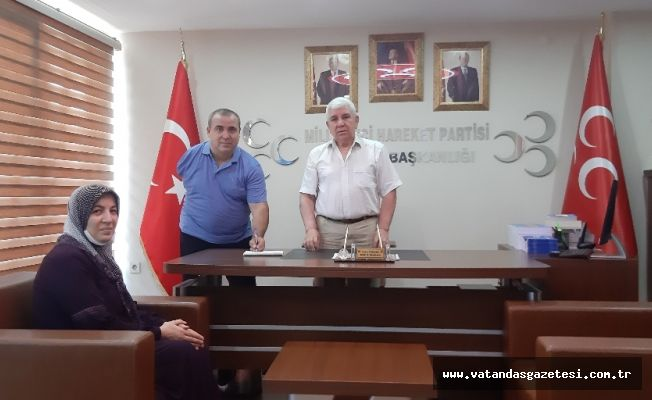 MHP'YE YENİ KATILIMLAR
