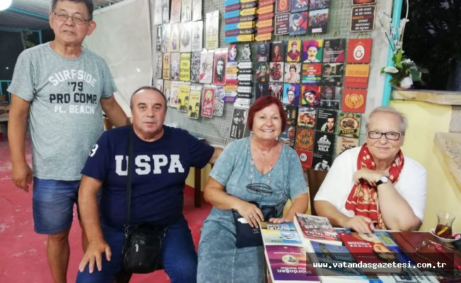 Sabriye Cemboluk, Enez'de de okurlarıyla buluştu