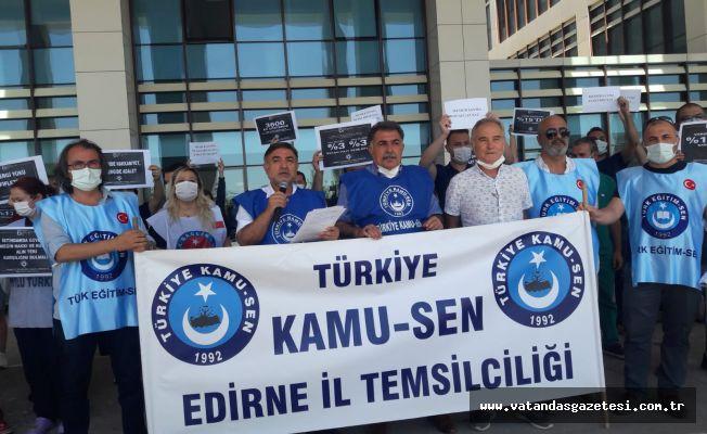 """""""TEKLİF EDİLEN ZAM KABUL EDİLEMEZ"""""""