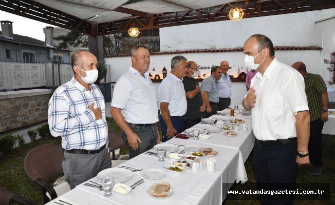 VALİ CANALP, MUHARREM İFTARINA KATILDI