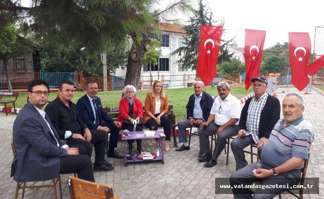 MEMLEKET PARTİSİNDEN GAZİLER DERNEĞİ'NE ZİYARET