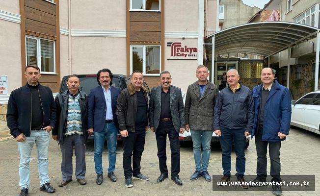 GENEL BAŞKAN ERCAN, EDİRNE'DEYDİ
