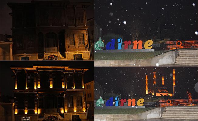 Dünya Saati'ne Edirne'den destek