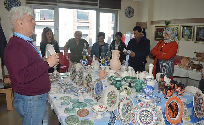 Edirne'yi Çini Eserleriyle Tanıttılar