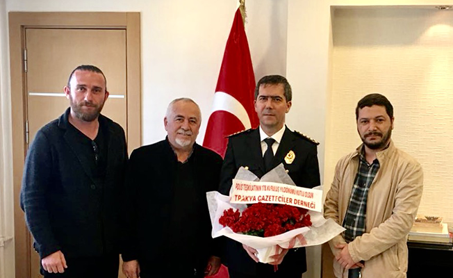 TGD POLİS HAFTASI'NI KUTLADI