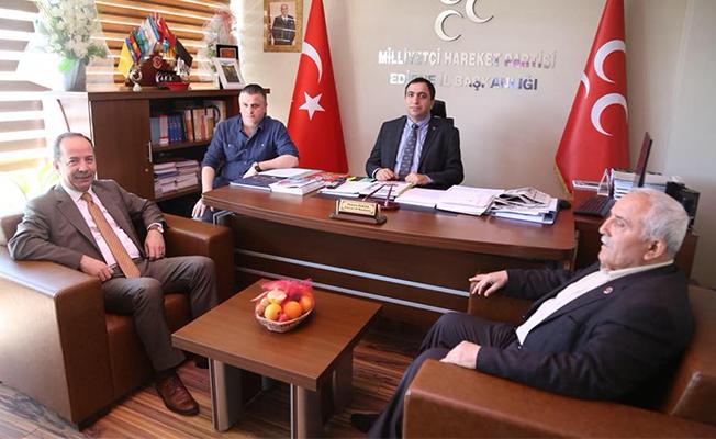 AKP ve MHP'yi ziyaret etti