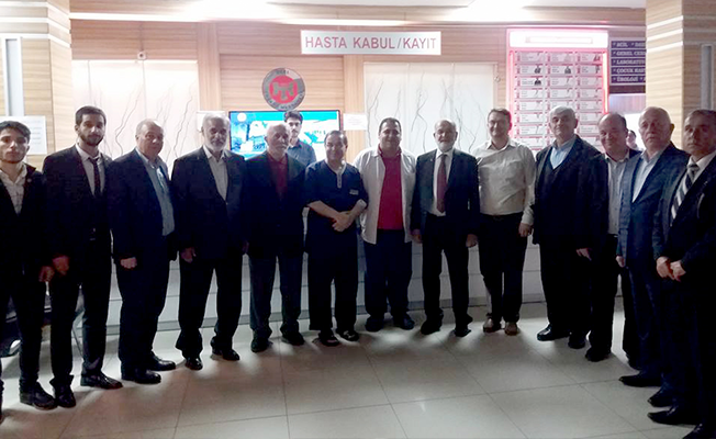 Genel Başkan Karamollaoğlu Özel Trakya Hastanesi'nde