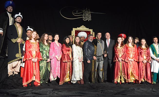 Fatih Sultan Mehmet'i canlandırdılar