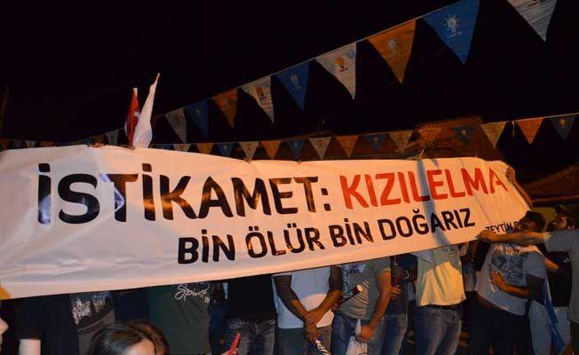AK Parti'ye görkemli karşılama
