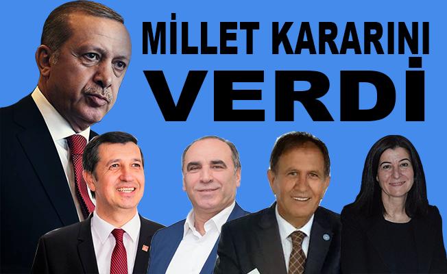 MİLLET KARARINI VERDİ