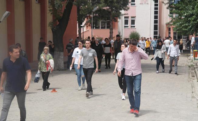 Edirne'de Sınav Heyecanı