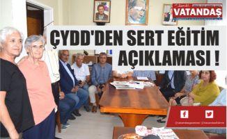 ÇYDD'DEN SERT EĞİTİM AÇIKLAMASI !