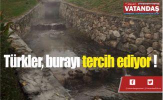 Türkler, burayı tercih ediyor !