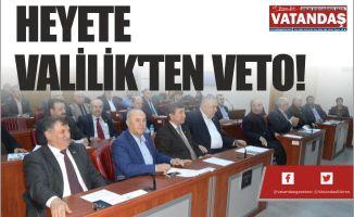 HEYETE VALİLİK'TEN VETO!