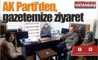 AK Parti'den, gazetemize ziyaret