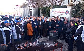 """CHP'den Grev Yapan İşçilere Büyük Destek """"EMEKÇİ KARDEŞLERİMİZİN YANINDAYIZ"""""""