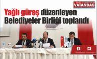 Yağlı güreş düzenleyen  Belediyeler Birliği toplandı