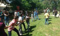 Çocuklar Doyasıya Eğlendi