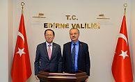 Kore Büyükelçisinden Vali Özdemir'e Ziyaret