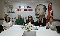"""AK PARTİ'DEN MURSİ AÇIKLAMASI  """"ONURLU MÜCADELESİNİN ŞAHİDİYİZ!"""""""